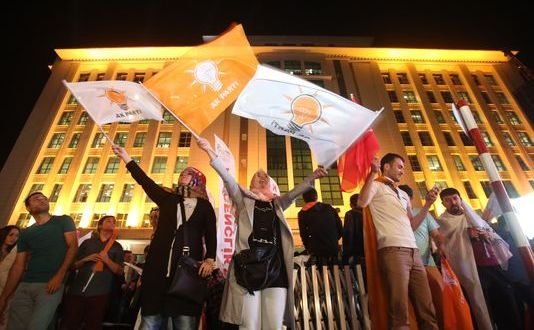 Turkey's Ruling Party Loses Majority in Election