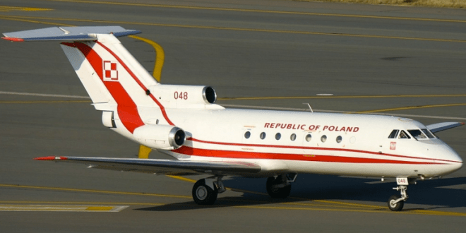 Polish Military Acquires VIP Jets