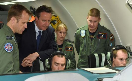 British PM: Buy More Drones, Boost Spec Ops