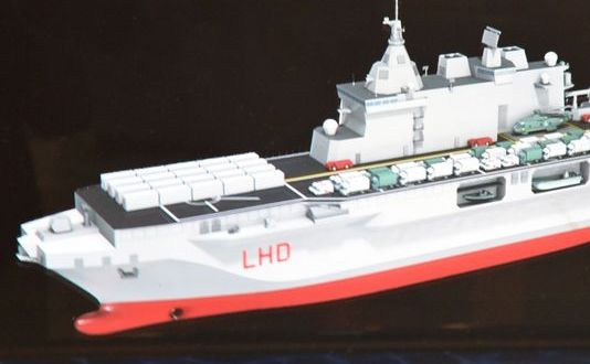 Dual Use Drives Italy's New LHD Design