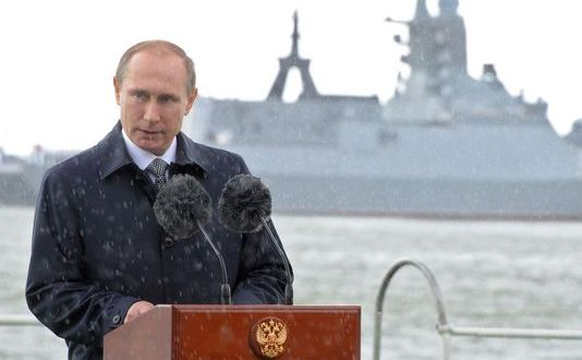 Putin OKs maritime code calling for strong Atlantic presence