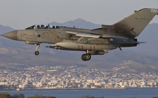 UK Extends Tornado Squadron To Keep Up Iraq Bombing Effort