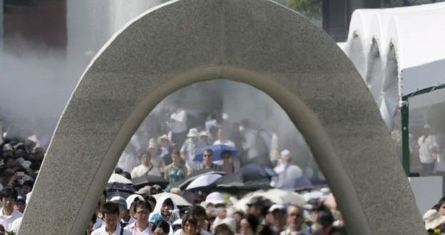 Hiroshima marks 70 years since atomic bomb