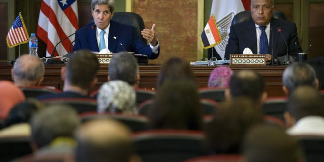 Kerry Warns Egypt Human Rights Abuses Can Hurt Fight Against Terrorism