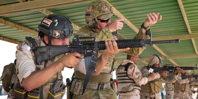 Australia to cut number of special forces in Iraq on training mission | The Guardian