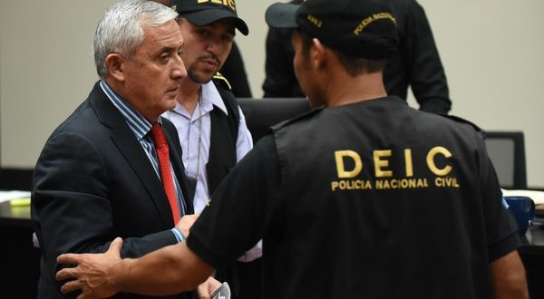 Otto Pérez Molina of Guatemala Is Jailed Hours After Resigning Presidency – The New York Times