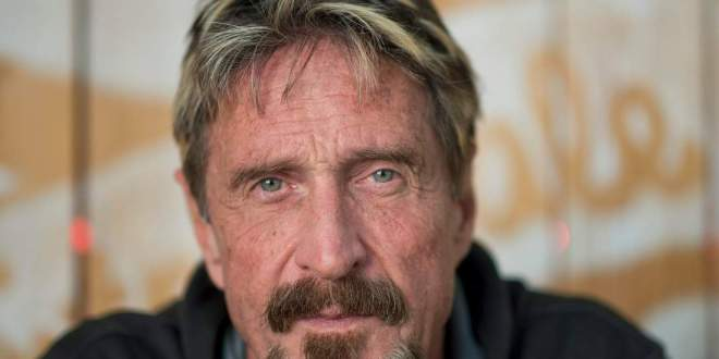Anti-Virus Software Maker John McAfee Is Running for President | TIME