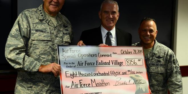 AFSOC raises $8K for AF Enlisted Village > Air Force Special Operations Command > Article Display