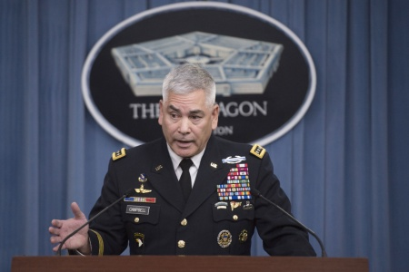 Gen. Campbell: Afghans requested U.S. airstrike in Kunduz