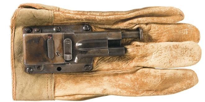 Forgotten Weapons: The Sedgley Glove Gun Really Packed a Punch