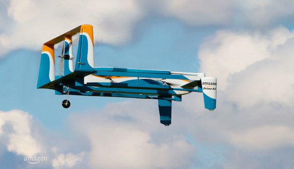 Amazon Unveils Its Delivery Drone of the Future