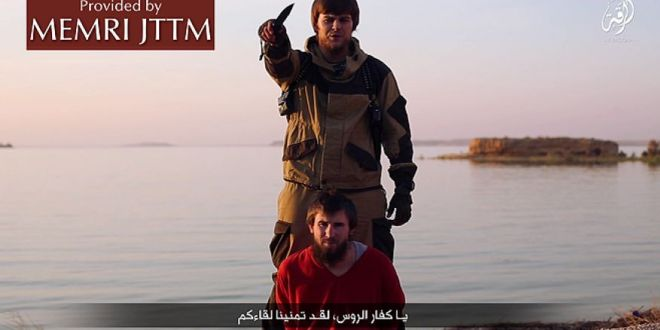 ISIS takes aim at Putin, with videos showing Russian 'spy' beheading, threats to Moscow