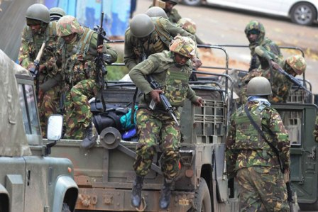 Kenyan special forces enter El Adde to rescue soldiers believed to be alive – Standard Digital News