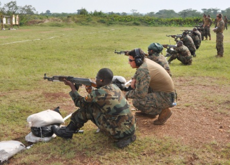 Somalia: SPECIAL FORCE COMMANDO Trained by Americans in Somalia | Geeska Afrika Online