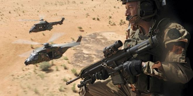 Battle for Manbij: French Special Forces Building Military Base in Kobani