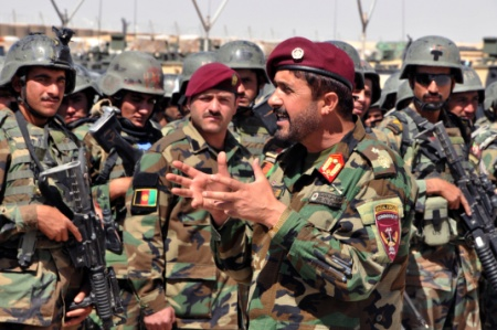 Under U.S. Air Cover, Afghan Commandos Chase The Elusive Taliban : Parallels : NPR