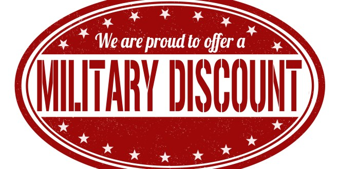 Clothing stores with military discount