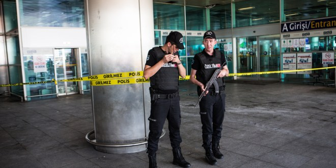 Istanbul airport: A scene of gunfire, bombs and sirens