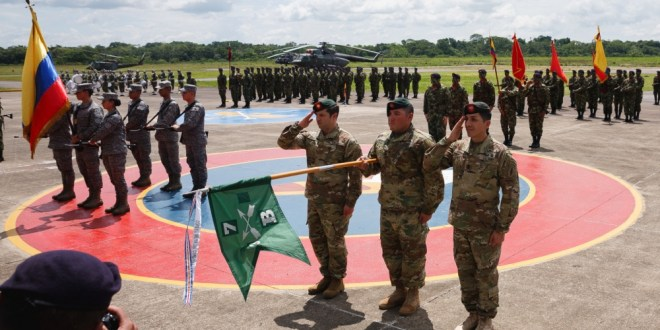 Colombian army counter-narcotics brigade honors U.S. Special Forces | DVIDS