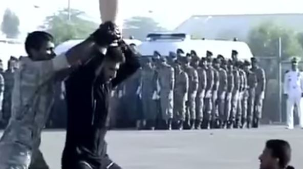 Watch Iranian Commandos Try (And Fail) To Smash A Vase In Epic Karate Showdown | Task&Purpose