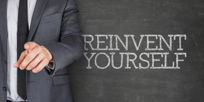Reinvent yourself: The journey from old you to new you to real you | The Garage