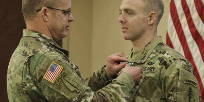 USASOC Selects SPC Ravid as AG Soldier of the Year | DVIDS