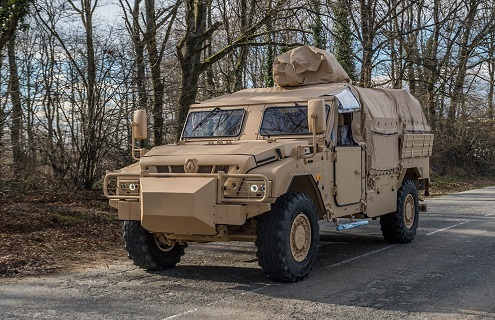 RTD delivers heavy vehicles to French special forces | DefenseNews