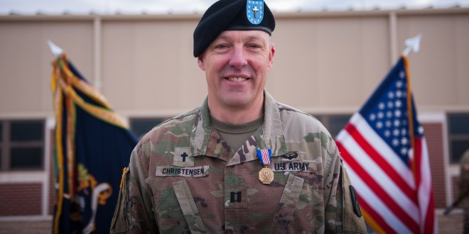 This Army chaplain stopped a machete-wielding soldier during a hostage situation | ArmyTimes