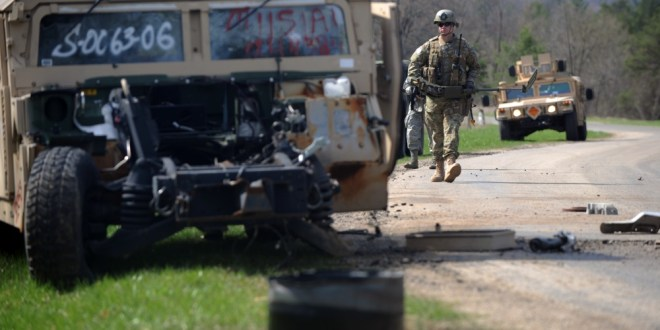Soldiers involved in Humvee crash were traveling to training exercise | Fayobserver