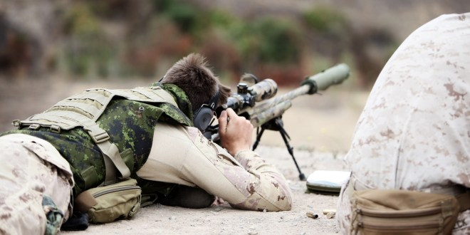 How Canada's small military produced deadly, record-breaking snipers | The Washington Post