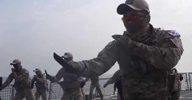 South Korea's Navy SEALs go through intense knife training | Business Insider
