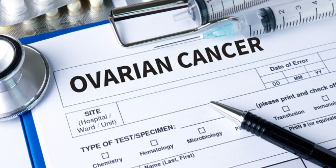 Drug shrinks ovarian tumours in early trial | BBC News