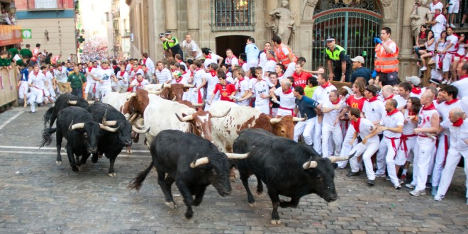 Video Shows Man Being Brutally Trampled At Running Of The Bulls | Daily Beast