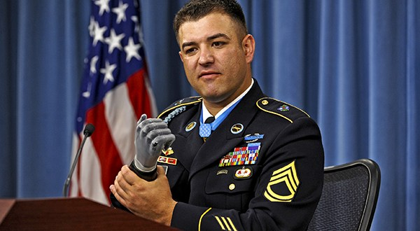 Army Ranger Loses Hand In Act That Earned Him Medal of Honor | DoDLive