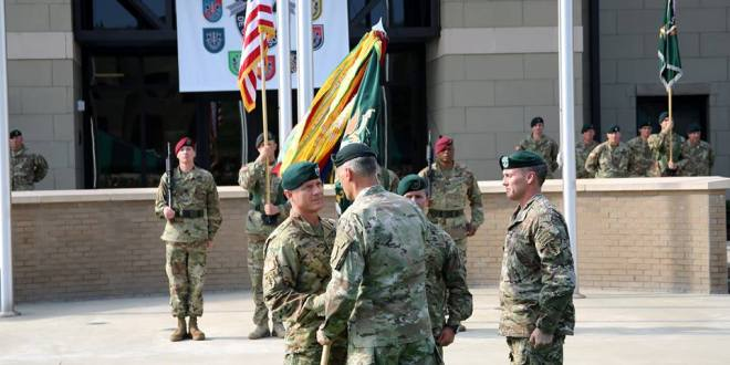 Beaudette Takes Over as New Head of 1st Special Forces Command | SpecialOperations.com