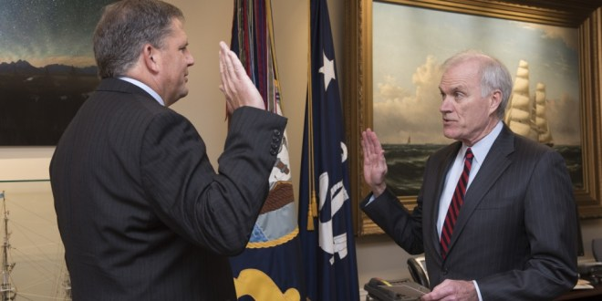 Source: Navy swears in new acquisitions chief   Defense News
