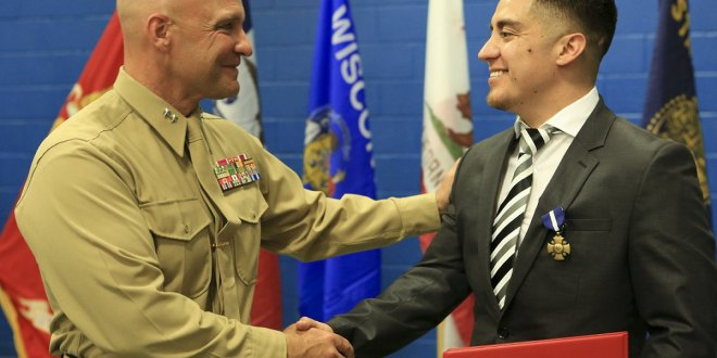 Three Marine veterans' awards upgraded to Navy Cross, Silver Stars | Marine Times