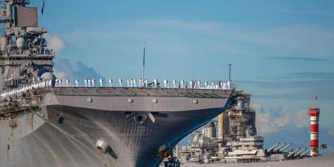 USS Wasp joins 7th Fleet after wrapping up relief efforts in Caribbean | Stars & Stripes
