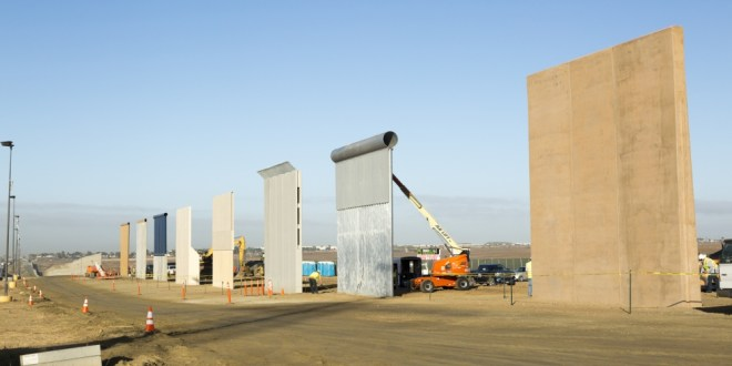 Trump's border wall models thwart U.S. special forces in tests | Pilot Online