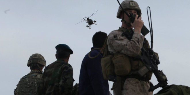 Marines train Afghans in air support | Military Times