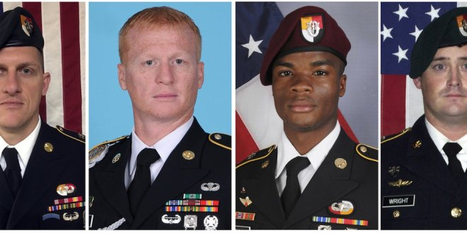Islamic State group offshoot claims attack on US soldiers in Niger | Military Times