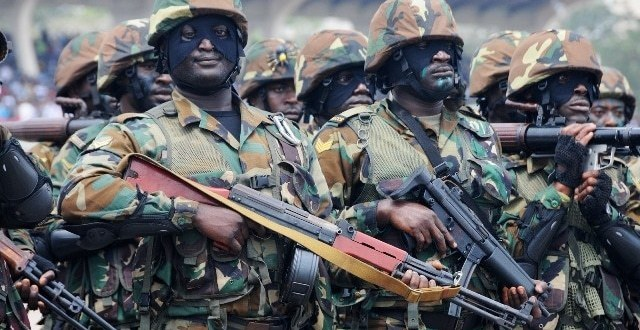 GAF commended as govt plans for more special forces training | Ghana Today