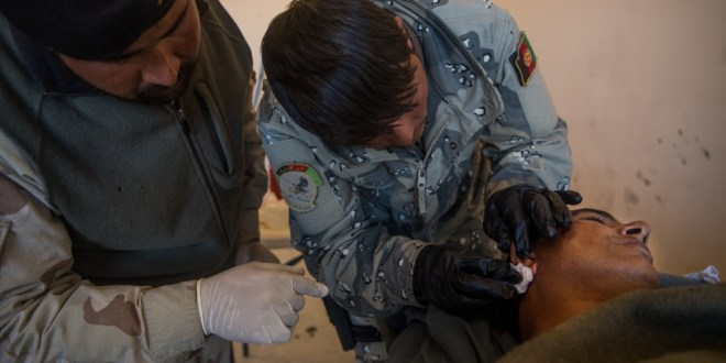 Afghan Special Security Forces medics complete advanced medical training   DVIDS News