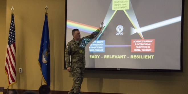 Leading from the top; AFSOC commander and command chief host all call | DVIDS News