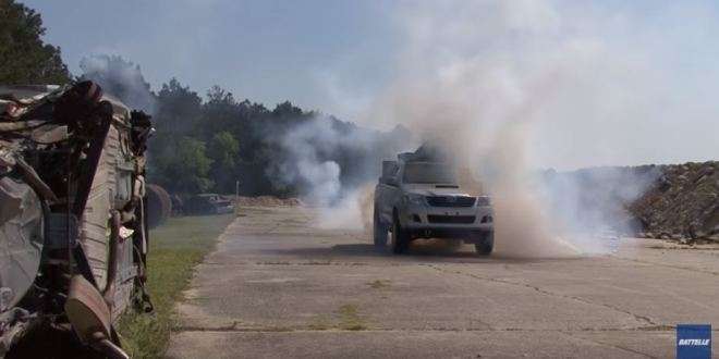 How U.S. Special Forces Get Their Armored Pickups | Popular Mechanics