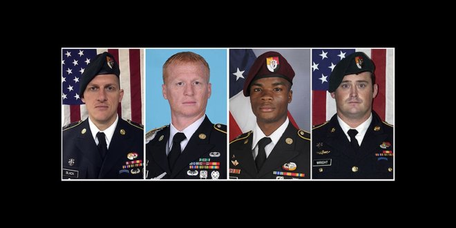 Pentagon to unveil probe into Niger ambush that killed 4 | Military Times