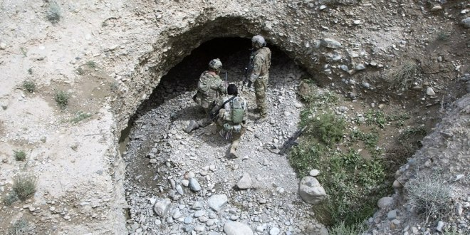 British special forces soldier killed six Taliban in pitch-black, Viet Cong-style tunnel fight | Military Times