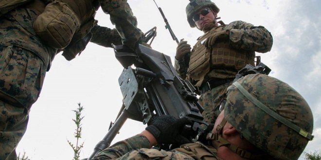 Marines practice rarely trained machine gun tactic that could take out Russian vehicles | Marine Corps Times