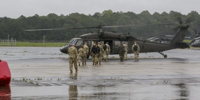 Fort Bragg leaders assess Florence damage | Fay Observer