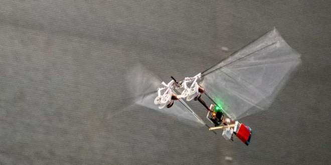 Novel flying robot mimics rapid insect flight | Science Daily